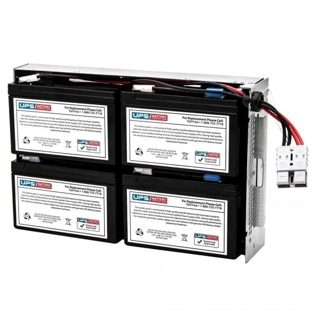 UPSBatteryCenter SUA1000US Compatible Replacement Battery Pack for APC Smart-UPS 1000VA