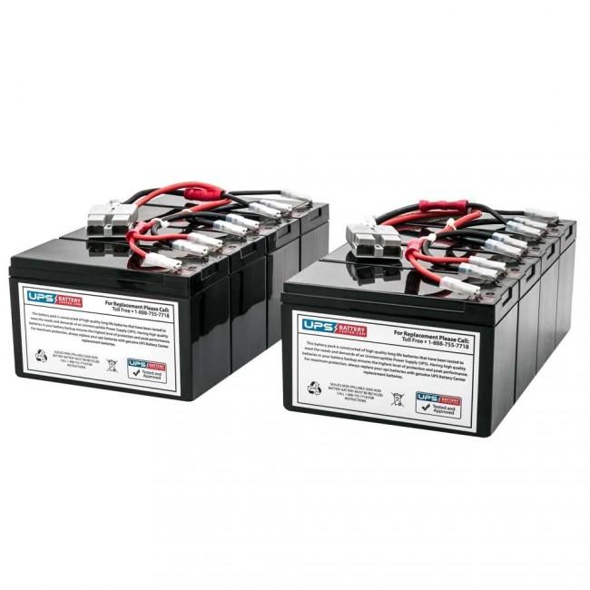 APC Smart-UPS 3000VA RM 5U 120V SU3000RMX93 New Replacement Battery Set by UPSBatteryCenter RBC11