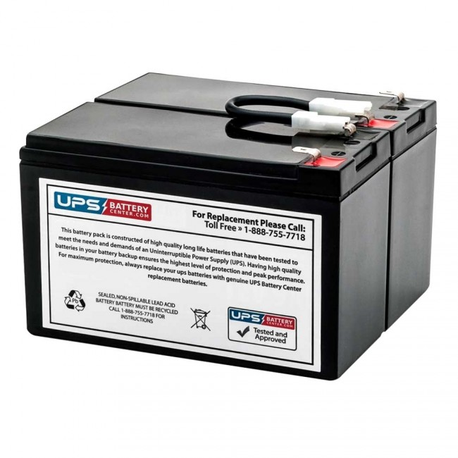 APC DL700I Dell Smart UPS 700VA UPSBatteryCenter Compatible Replacement Battery Pack
