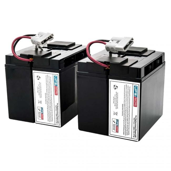 APC Smart-UPS XL 3000VA 208V Tower//Rack SUA3000XLT UPSBatteryCenter Compatible Replacement Battery Set