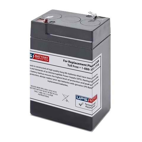 Dorcy Spotlight 41-0796 6V 5Ah Compatible Replacement Battery