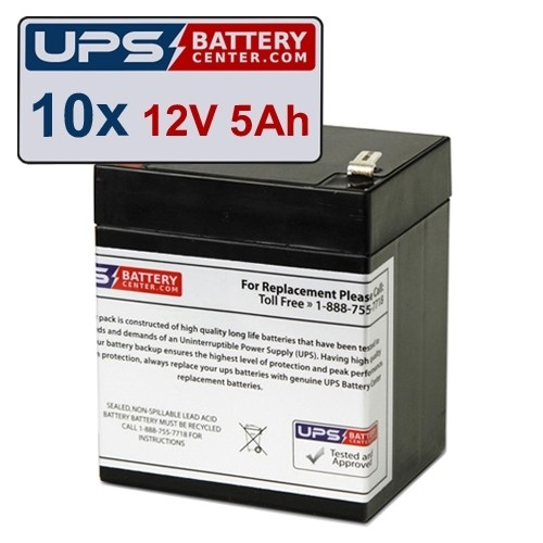 MGE Pulsar Eclipse 250 Compatible Replacement Battery Set