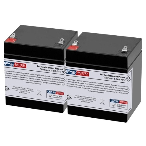 E-Scooter 24V 100 watts 12V 5Ah Electric Scooter Replacement Battery Set