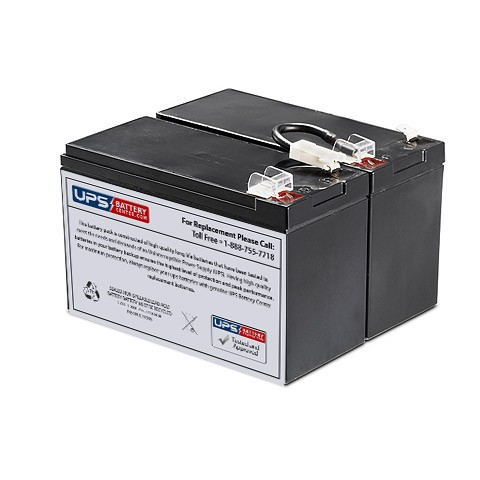 Ultra RCD-UPS1500D UPS Compatible Replacement Battery Kit