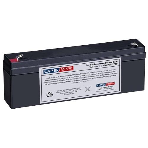 Roche Diagnostics Corp  7501 Defibrillator 12V 2 3Ah F1 Medical Battery
