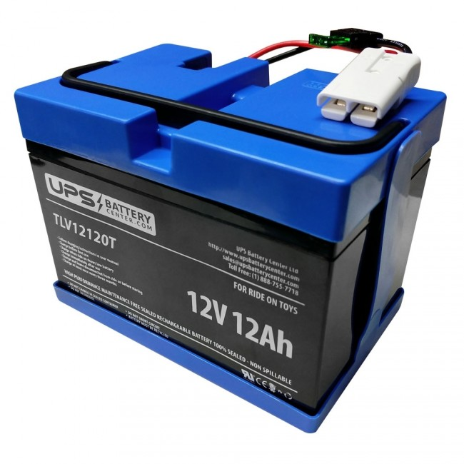 Rollplay 12 Volt Chevy Silverado Red Replacement Battery