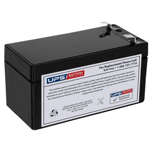 12v 1 4ah sealed lead acid battery with f1 terminals tlv1214. Black Bedroom Furniture Sets. Home Design Ideas