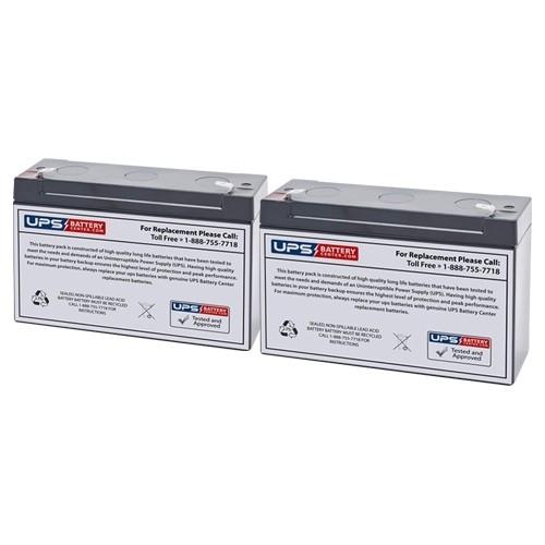 Tripp Lite Internet Office 700VA INTERNETOFFICE700 Compatible Replacement  Battery Set - Version 2