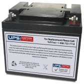 TLV12450F6 - 12V 45Ah Sealed Lead Acid Battery with F6 Terminals