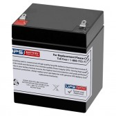 TLV1245F1 - 12V 4.5Ah Sealed Lead Acid Battery with F1 Terminals