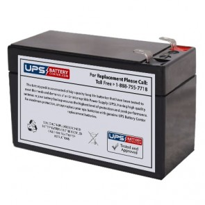 Wei Long WP1.212 12V 1.3Ah Battery