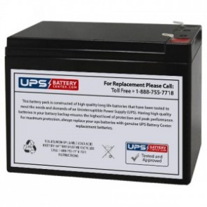 New Power NS12-10 12V 10Ah Battery