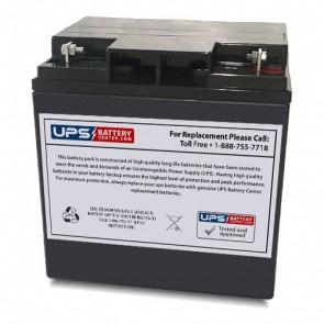MUST FC12-24AQ 12V 24Ah Battery