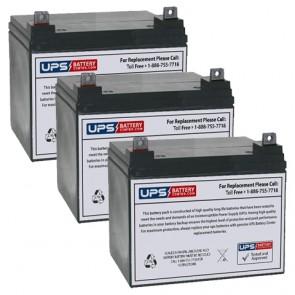 Topaz 83186-03 12V 32Ah Battery