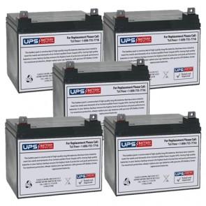 Topaz 83256-03 12V 32Ah Battery