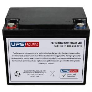 MUST FC12-38AQ 12V 38Ah Battery
