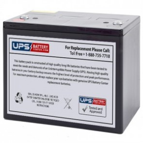 Power Energy DC12-80 12V 80Ah Battery