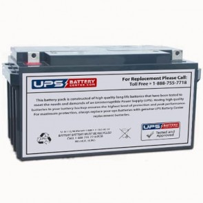 Hisel Power SP12-80 12V 80Ah Battery