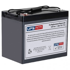 VCELL 12VCL90 M6 Insert Terminals 12V 90Ah Battery
