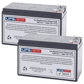 Potter Electric PFC-4410-RC (Set of 2) 12V 9Ah Batteries
