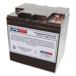 Simplex 112-134 12v 25.0Ah Battery