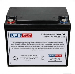 Stinger SPV44 12V 38Ah Battery Replacement