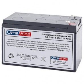 Napco Alarms GEM-P816 12V 7.2Ah Battery