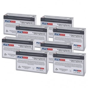Topaz 32200 6V 12Ah Replacement Battery