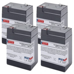 Castle Co 4900 Shampaine Surgical Table Medical Batteries