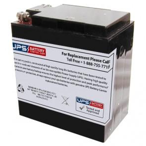 Simplex 112-110 6V 58.0Ah Battery