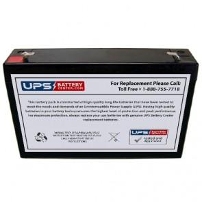 National Power LS024M5 6V 8Ah Battery