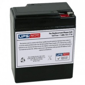 6V 9Ah Rechargeable Ride-on Toy Car Battery