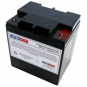 Acumax 12V 28Ah AML28-12 Battery with M5 Terminals