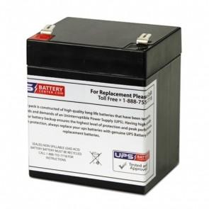 Alarmtec 12V 5Ah BP5-12 Battery with F2 Terminals