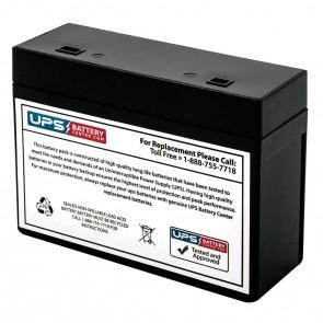 APC Back-UPS Office 500VA BF500U Compatible Battery