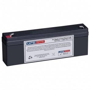 BatteryMart 12V 2.3Ah SLA-12V2-3 Battery with F1 Terminals