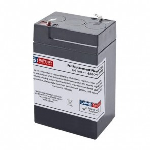 BB 6V 4.5Ah BC4.5-6 Battery with F1 Terminals