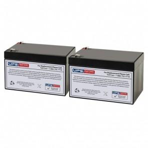 Belkin F6C1000-EUR Compatible Replacement Battery Set