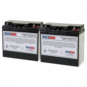 Best Power Fortress LI 1.3KVA BAT-0058 Compatible Replacement Battery Set