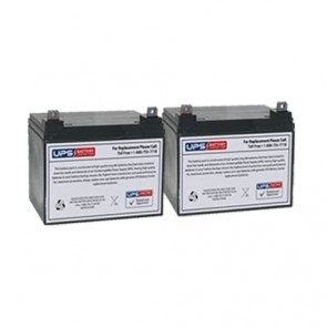 Best Power Fortress LI 1.7KVA BAT-0065 Compatible Replacement Battery Set