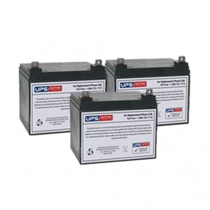Best Power Fortress LI 2.5KVA BAT-0065 Compatible Replacement Battery Set