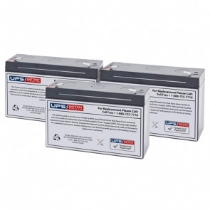 Best Power Patriot II Pro 1000 Compatible Replacement Battery Set