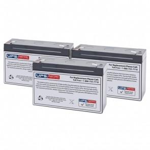 Best Power Patriot Pro 1000 Compatible Replacement Battery Set