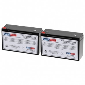 Best Power Patriot SPS650 Compatible Replacement Battery Set
