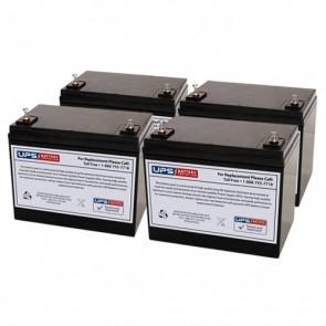 Best Power Unity UT8K Compatible Replacement Battery Set