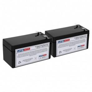 Biomedical Design EAS 85 Scope Medical Batteries - Set of 2
