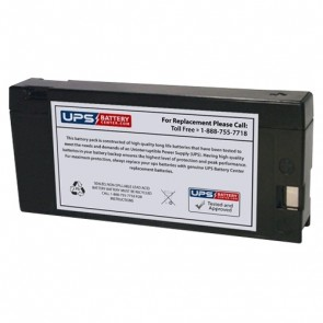 CCB Industrial 12V 2Ah 12MD-2.0A Battery with PC Terminals