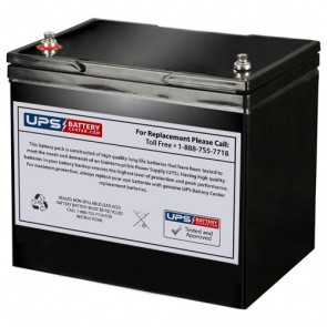 Cellpower 12V 80Ah CPX 80-12 Battery with M6 Insert Terminals