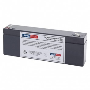 CooPower 12V 2.6Ah CP12-2.6 Battery with F1 Terminals
