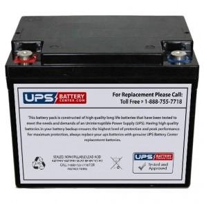 CooPower 12V 38Ah CPD12-38 Battery with M5 Insert Terminals